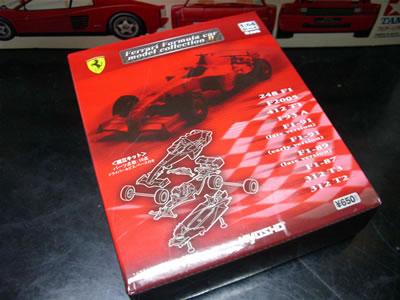 サークルK・サンクス限定京商フェラーリミニカー「フェラーリF1コレクション2」