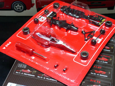 福岡のトラックドライバーO氏から譲っていただいたのは、1993年のF1グランプリを戦った「F93A」。
