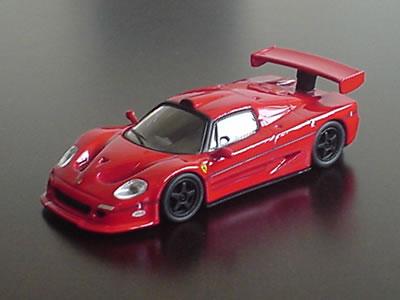 サークルK・サンクス限定フェラーリミニカー第3弾のF50GT。ミニカーなら何千台でも生産できる!