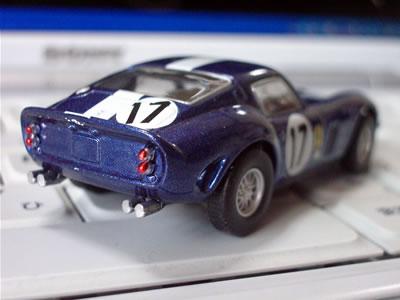 画像のカーナンバー17は1962年のル・マンに出場した1台。