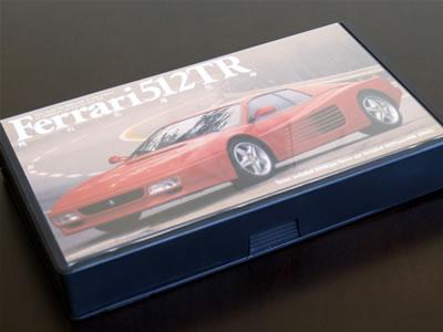 「Ferrari512TR 跳ね馬進化論」のVHSビデオ パッケージ表