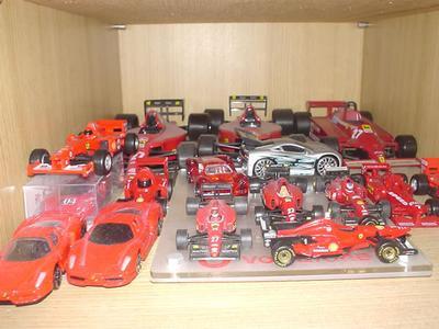 フェラーリコレクション1階