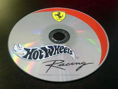ホットウィールのCD-ROM