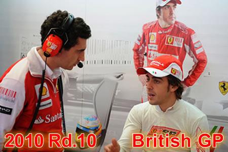 2010年第10戦 イギリスGP予選