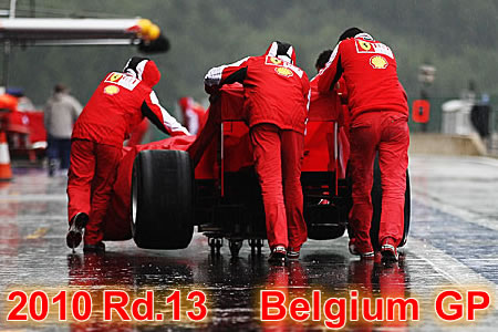 2010年第13戦ベルギーGP予選