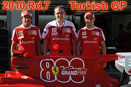 2010年 第7戦 トルコGP予選