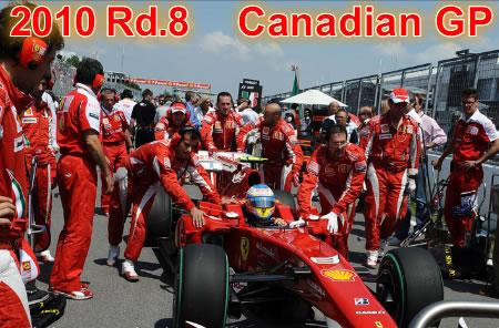 2010年 第8戦 カナダGP決勝
