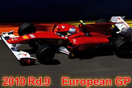 2010年 第9戦 ヨーロッパGP決勝