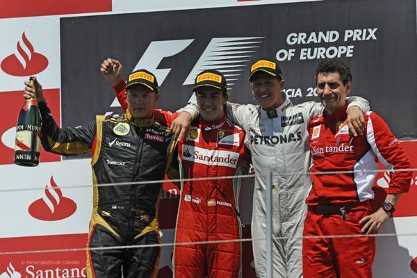 2012年F1ヨーロッパGP