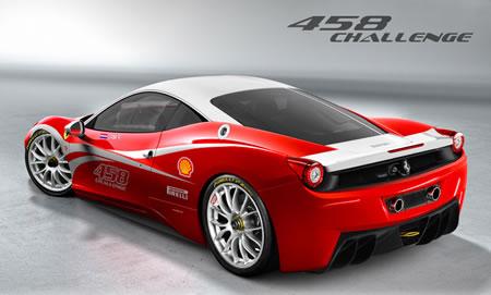 フェラーリ458チャレンジ予想CG