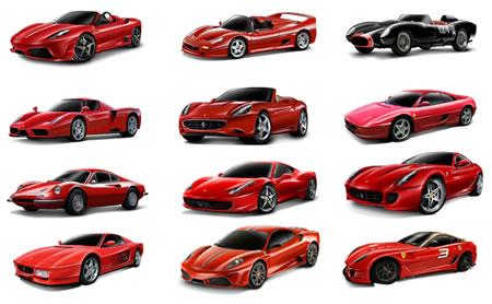 ブラーゴのフェラーリミニカー