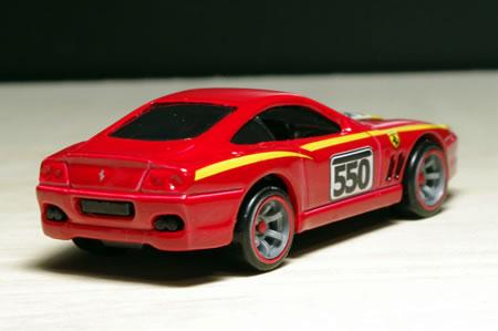 HotWheels Ferrari Racer 2009 No.21 Ferrari550Maranello