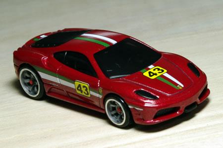 ホットウィールのフェラーリレーサー2009の430スクーデリア