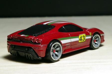 HotWheels Ferrari Racer 2009 No.23 Ferrari430Scuderia