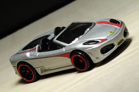 HotWheels Ferrari Racer 2009 No.24 F430spider