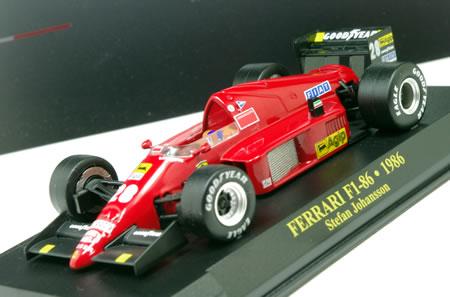 ガゼッタデッロスポルト~のフェラーリF1ミニカー「F186」をようやくブリバリ