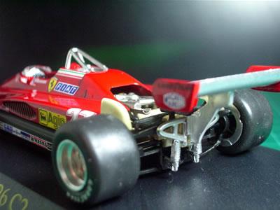 個人的には歴代フェラーリF1マシンの中では「126系」が一番好き。