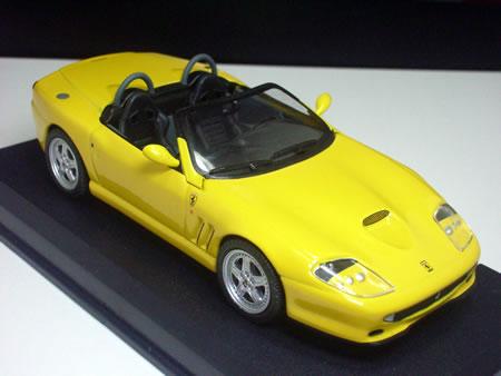 アシェット婦人画報社「フェラーリコレクション」のNo.24「フェラーリ550バルケッタ」です。