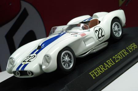 1958年のル・マンで7位フィニッシュした22号車