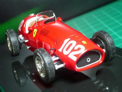 カーナンバーは102。1952年にジュゼッペ・ファリーナがドライブしたマシン。