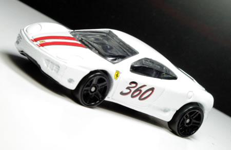 ホットウィール5PACKのフェラーリ360モデナ