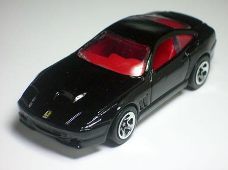 フェラーリ550マラネロの1/64ミニカーです。