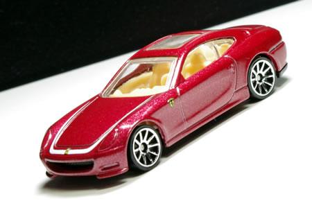 ホットウィール5PACKのフェラーリ612スカリエッティセッサンタ