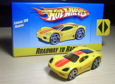 X-レーサーズのフェラーリ360モデナと同じキャスト。