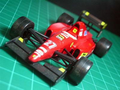 1992年のF1グランプリを戦った革新的マシン。