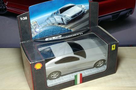 マレーシアシェルのキャンペーンフェラーリミニカー。