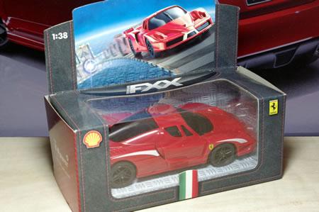 マレーシアシェルのキャンペーンフェラーリミニカー「フェラーリFXX」