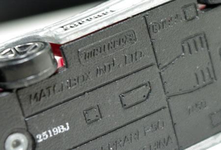 マッチボックスの1/59サイズのフェラーリF50です。