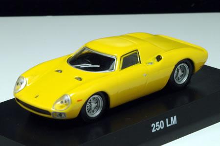京商サンクスフェラーリコレクション7NEOの「フェラーリ250LM」のジャッロです。