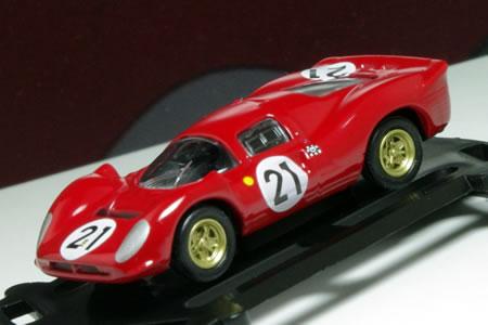 フェラーリミニカーコレクション(1/100) Vol.1から「フェラーリ330P4 #21」<br /> です。
