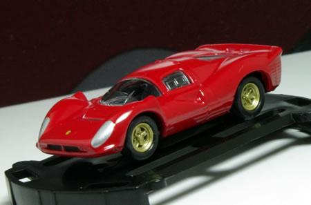 フェラーリミニカーコレクション(1/100) Vol.1から「フェラーリ330P4」です。