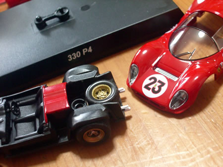 サークルKサンクス限定京商フェラーリミニカーコレクション7 フェラーリ330P4#23