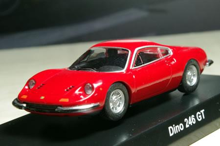 サークルK・サンクス限定フェラーリ ミニカーコレクション第7弾から「フェラーリディーノ」。
