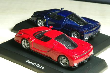 エンツォは2002年に発表された288GTO→F40→F50から続くプレミアムモデル。