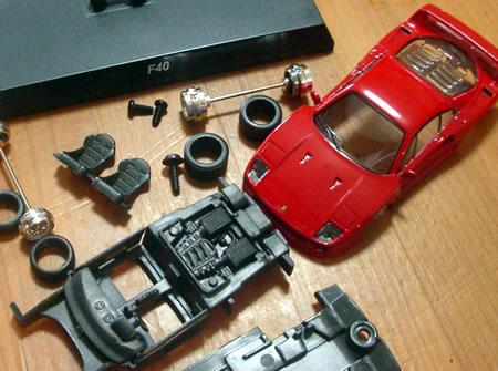 サークルKサンクス限定京商フェラーリミニカーコレクション7 フェラーリF40