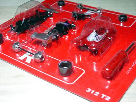 サークルK・サンクス限定京商フェラーリミニカー「フェラーリF1コレクション第2弾(1/64)」のフェラーリ312T2
