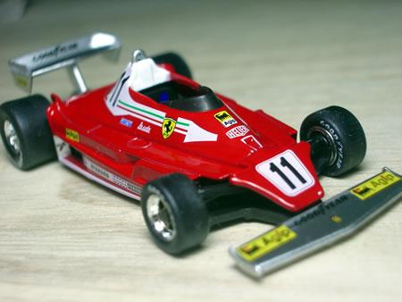 フロントタイヤとリアタイヤのバランスが好き!