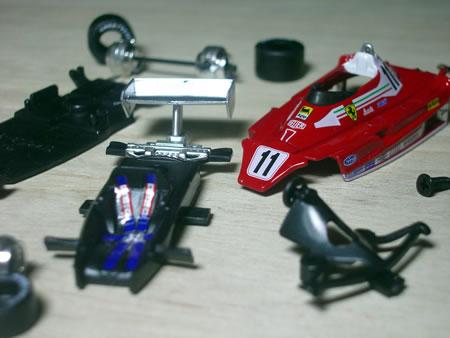 タバコデカールに左右されないこの時代のF1ってプラモデルやミニカーコレクターにとっても、いい時代ですよね~。